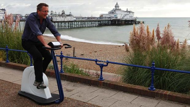 No need to slog it out at the gym: Michael Mosley discovers the benefits of the fast fix.