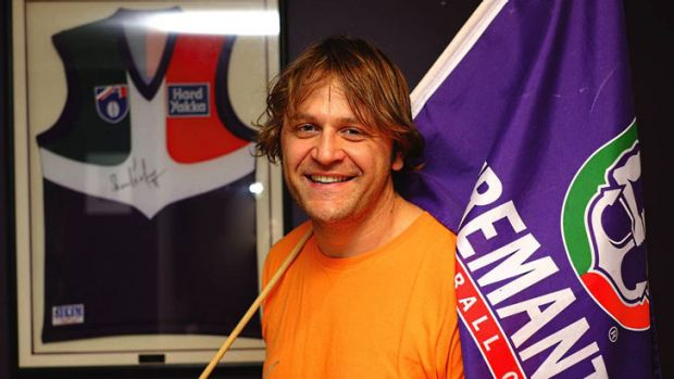 Passionate Dockers supporter Rob Gherardi has chartered a plane to take himself to watch the AFL Grand Final should the ...