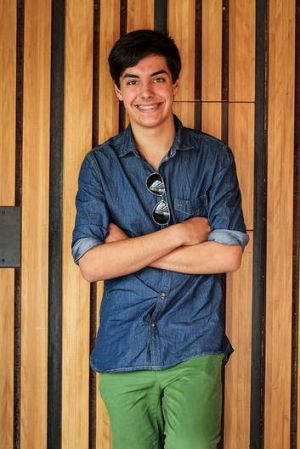 Tropfest Junior entrant Oliver Levi Malouf of Hackett.