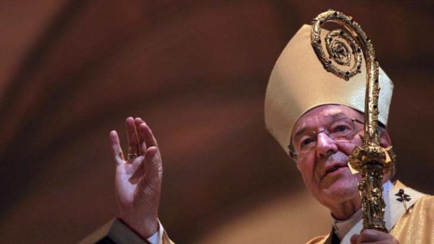 Fearless in his defence of priests: Cardinal George Pell.