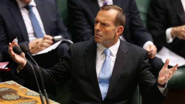 Can the position transform the man?: 'It seems only reasonable to wait and see what Abbott makes of it'.