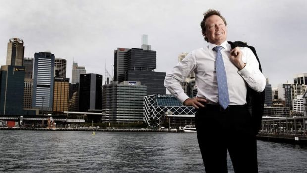 Andrew Forrest has clearly recovered from his broken heart of a year ago.