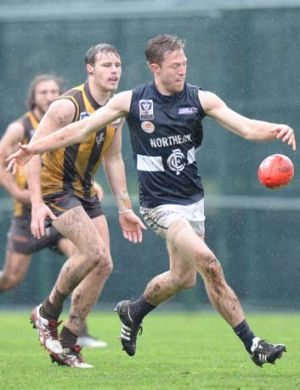 In reserve: Carlton defender Jeremy Laidler had a frustrating season after being largely confined to the VFL.