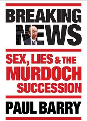 The cover of Paul Barry's upcoming book.