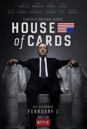 Hit show House of Cards doesn't air on television.