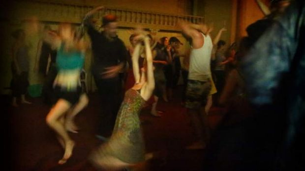 Dancing in the dark: No Lights, No Lycra is a runaway success.
