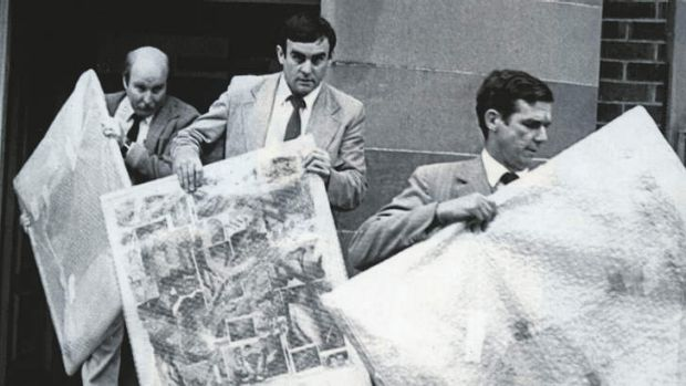Newcastle detectives seize three pictures by artist Juan Davila in 1984 that were said to be indecent for having gay ...