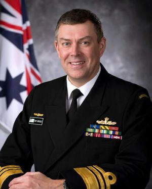 First interview: Vice-Admiral Ray Griggs.