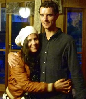 Shot dead: Australian Ross Langdon and his wife Elif Yavuz.