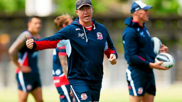 Roosters coach Trent Robinson is one of the lowest paid coaches in the NRL.