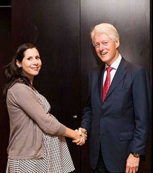 Elif Yavuz worked for the Clinton Foundation in Tanzania.