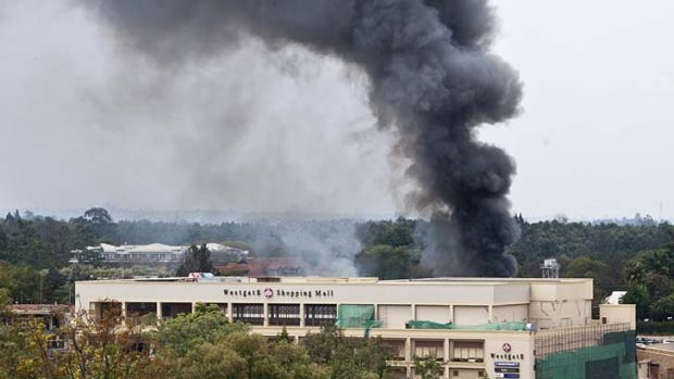 Westgate mall siege entered its third day amid reports of gun fire and blasts as security forces sought to end the stand-off.