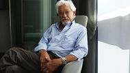Portrait of David Suzuki while he is visiting Sydney.