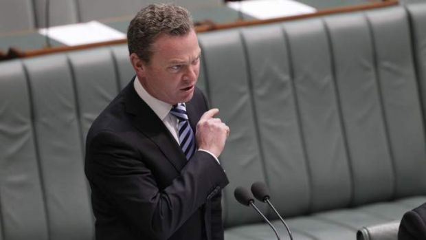 Too busy to talk Gonski: Christopher Pyne.