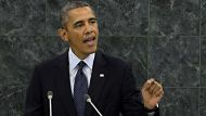 Obama opts for diplomacy in UN speech (Video Thumbnail)