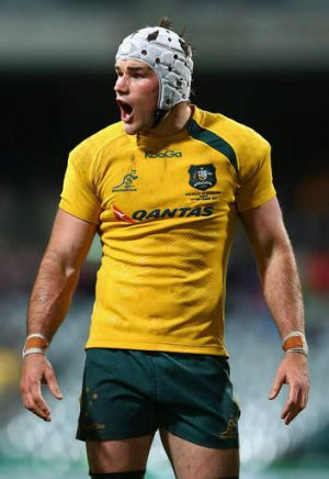 Bouncing back: Ben Mowen hopes the Wallabies can turn their run of poor performances around against the Springboks.