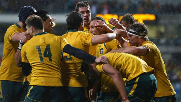 """""""The group's motivated, and there's a really good feeling amongst the players"""": Ben Mowen of the Wallabies."""