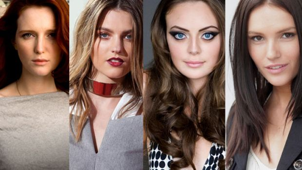 More of the same? ... Former <i>Australia's Next Top Model</i> winners Alice Burdeu, Montana Cox, Demelza Reveley and ...