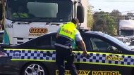 Mother, daughter hit by truck in Werribee (Video Thumbnail)