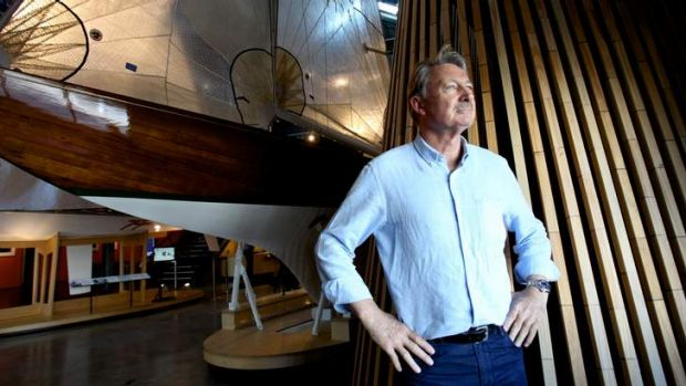 Cash is king: John Bertrand said the America's Cup has become a battle of the chequebooks.