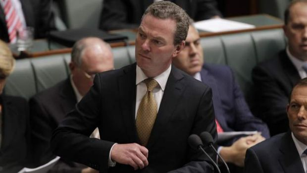 "Christopher Pyne: ""No plans to restore the cap""."