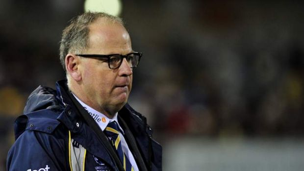 Gone: Jake White was shocked the Brumbies by quitting the club.
