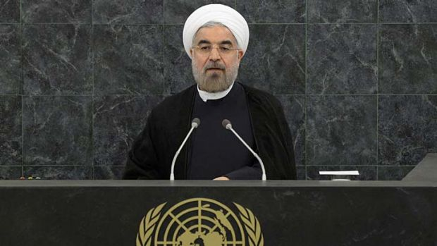 """''If it's three months that would be Iran's choice"""": Iranian President Hassan Rouhani."""