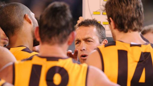 Hawthorn's coach Alastair Clarkson has remodelled a group that lost its way after its 2008 premiership.