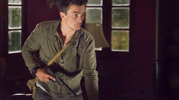 Peter Quinn (Rupert Friend) is back on the scene in <i>Homeland</i> season 3.