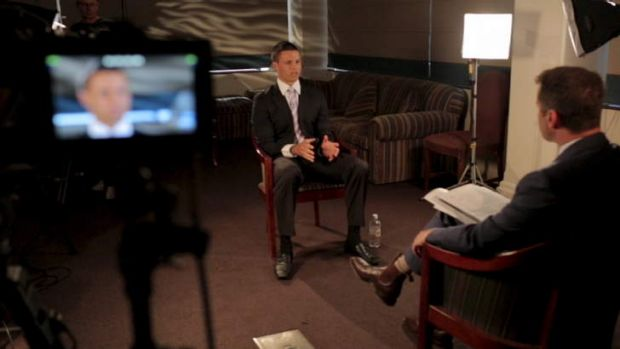 The Channel 9 interview during the week.