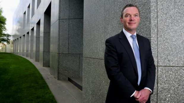 Grants announced: Education Minister Christopher Pyne.