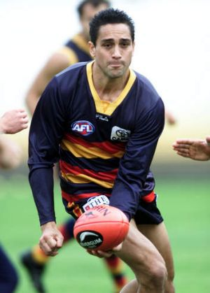 Andrew McLeod trains back in the day.