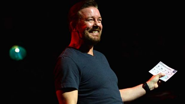 Gervais wants to find more time for stand-up comedy.