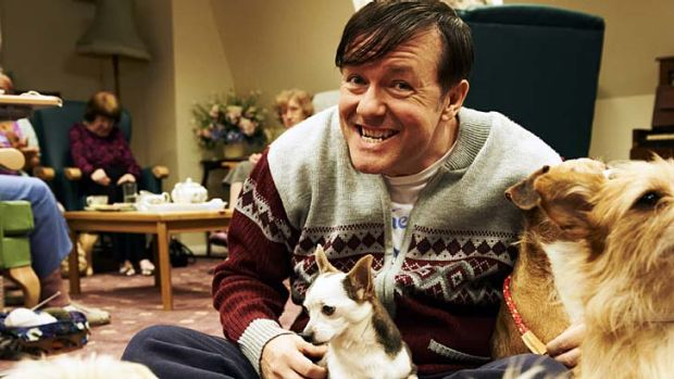 BBC First will fast-track dramas and comedies, including the Ricky Gervais series <i>Derek</i>.