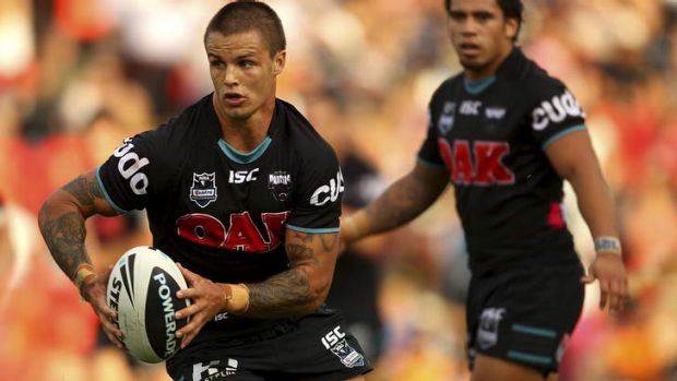 Controversy: Sandor Earl during his stint at the Panthers in 2011.