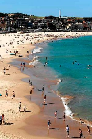 Waterfront works planned: Bondi beach.