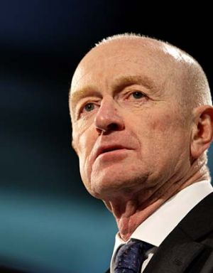 "Glenn Stevens: Brian Hood has publicly challenged the RBA governor's parliamentary testimony""."