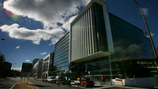 AusAID's relatively new building in Civic, Canberra. It's unknown to what degree it will operate separately from the ...