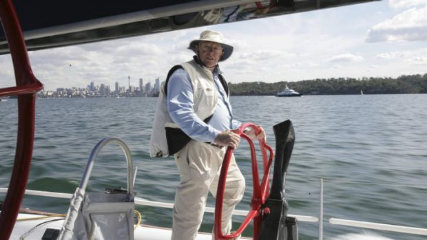 Up for the challenge: Bob Oatley, pictured in 2007.