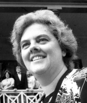 Janet Powell as leader of the Australian Democrats.