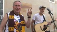 Barnett pays busker to stop playing (Video Thumbnail)