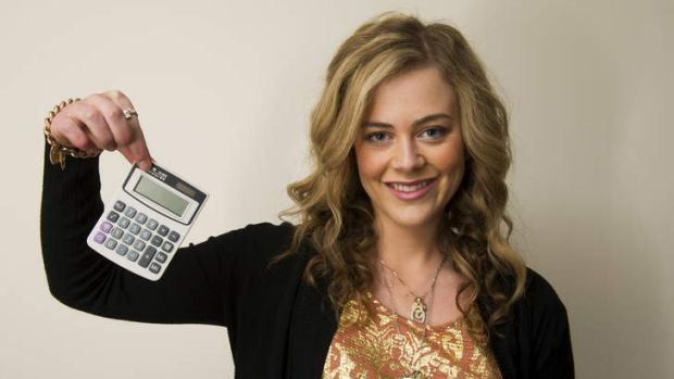 NUMBERS UP: No more calculators - well, at least not for the time being for Gungahlin College student Gemma Bonnici who ...
