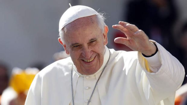"Pope Francis has condemned  ""leprosy"" in the Vatican and called for a less hierarchical church."