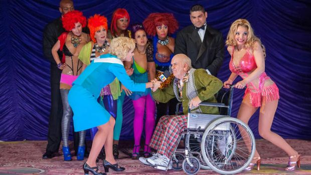 <i>Anna Nicole</i> is the last show to be presented by the New York City Opera, which will close due to bankruptcy.