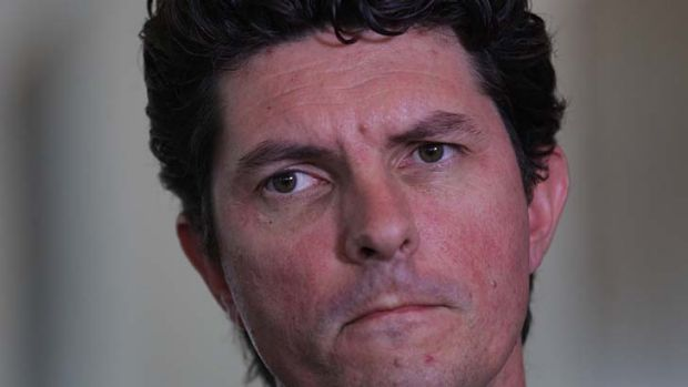 Greens Senator Scott Ludlam awaits the High Court decision.