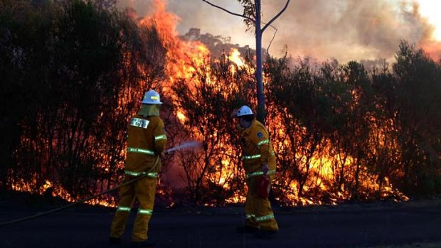 With more record temperatures, the risk of bushfires increases every year.