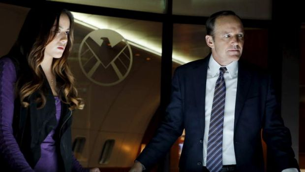 Fish tanks in trouble: Clark Gregg as agent Phil Coulson has some great lines in Agents of S.H.I.E.L.D.