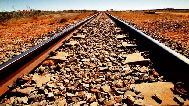 Lucrative road: Rio Tinto is planning to replace its highly-paid train drivers in the outback.