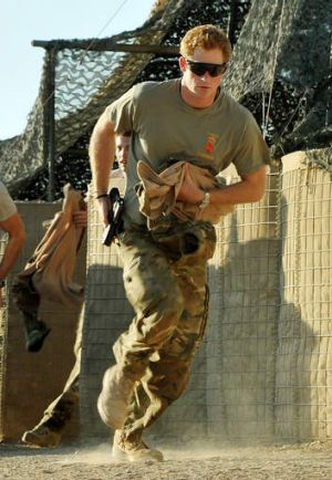 Prince Harry served with distinction for 10 weeks in Afghanistan.