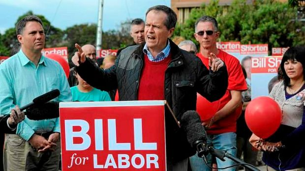 """There is no doubt that Bill's campaign started from behind but it has been heartening to see the response"": Shorten ..."